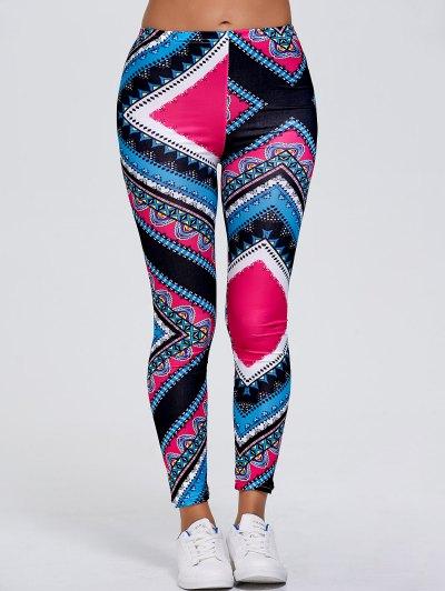 Tribal Print Slimming Leggings
