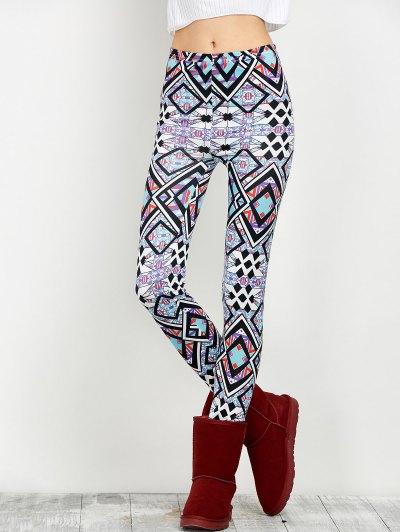 Print Skinny Leggings