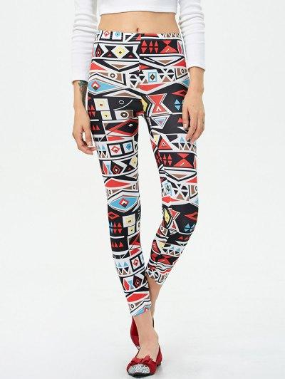Geometric Print Leggings