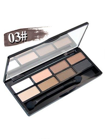 8 Colours Shimmer Matte Eyeshadow Kit