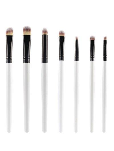 7 Pcs Nylon Eye Makeup Brushes Set