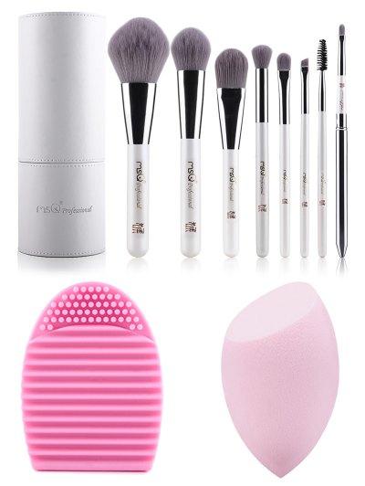8 pcs Makeup Brushes Kit Beauty Blender Brush Egg