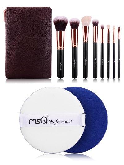 8 pcs Makeup Brushes Kit BB Cream Puff