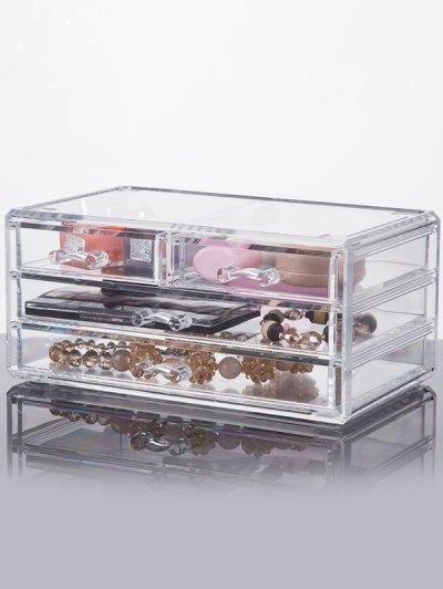 Desktop Drawer Jewelry Box Makeup Organizer
