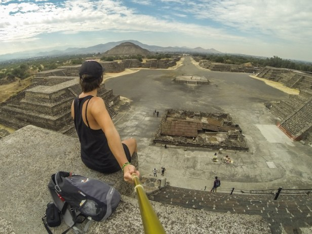 Pyramide Teotihuacan mexique gloobetrotteuse
