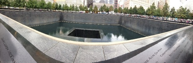 voyage New York 911 memorial