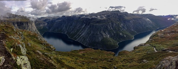 panoramique Trolltunga