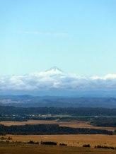 Le mont Taranaki, vue depuis le début du Tongariro Alpine Crossing