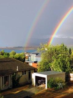 Tekapo - double rainbow