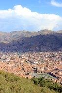 Cusco vu de Sacsayhuaman
