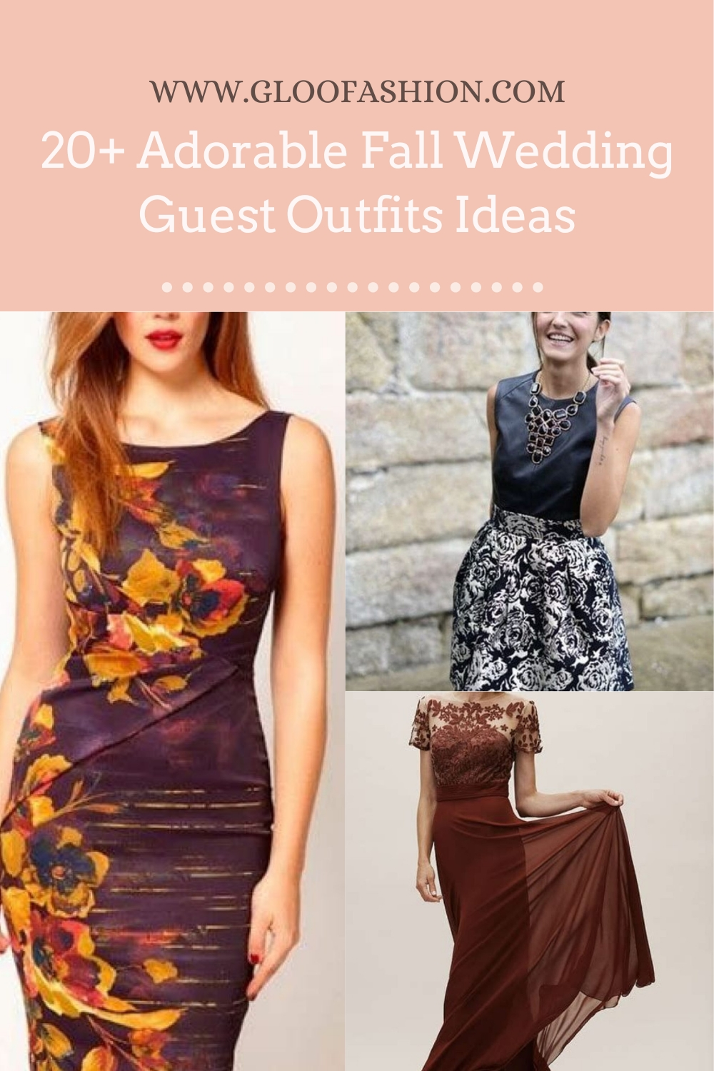 20+ Adorable Fall Wedding Guest Outfits Ideas