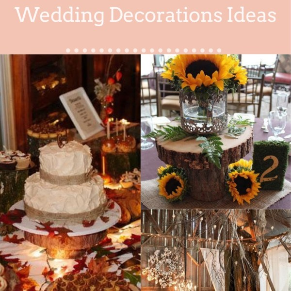20+ Brilliant Rustic Fall Wedding Decorations Ideas