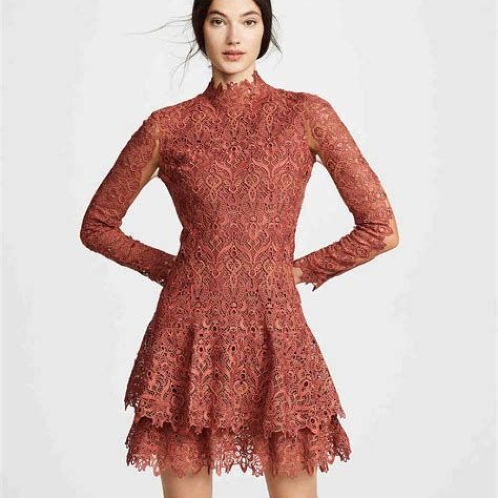 Adorable Fall Wedding Guest Outfits Ideas 09