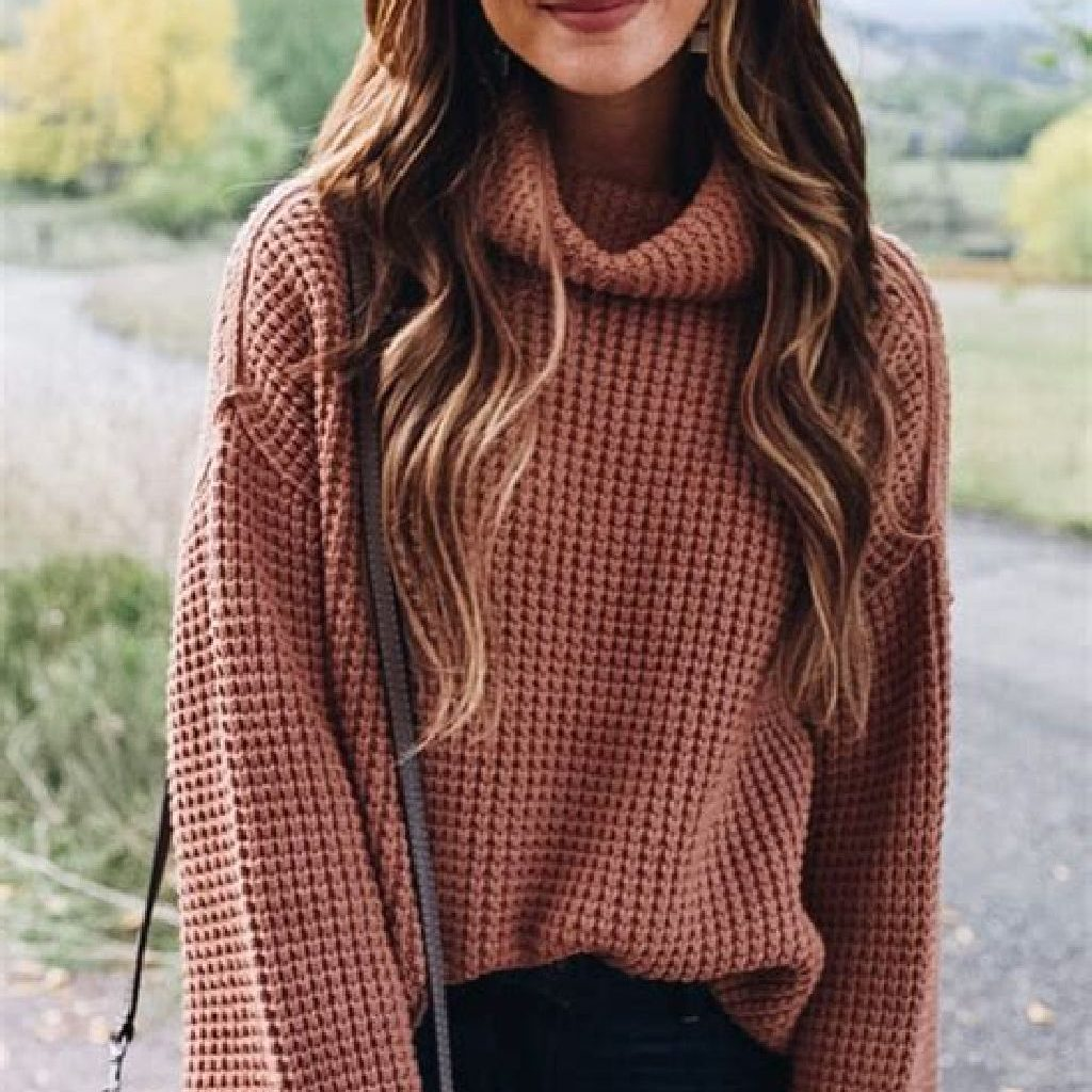 Adorable Sweater Style Ideas For Your Fall Season 31