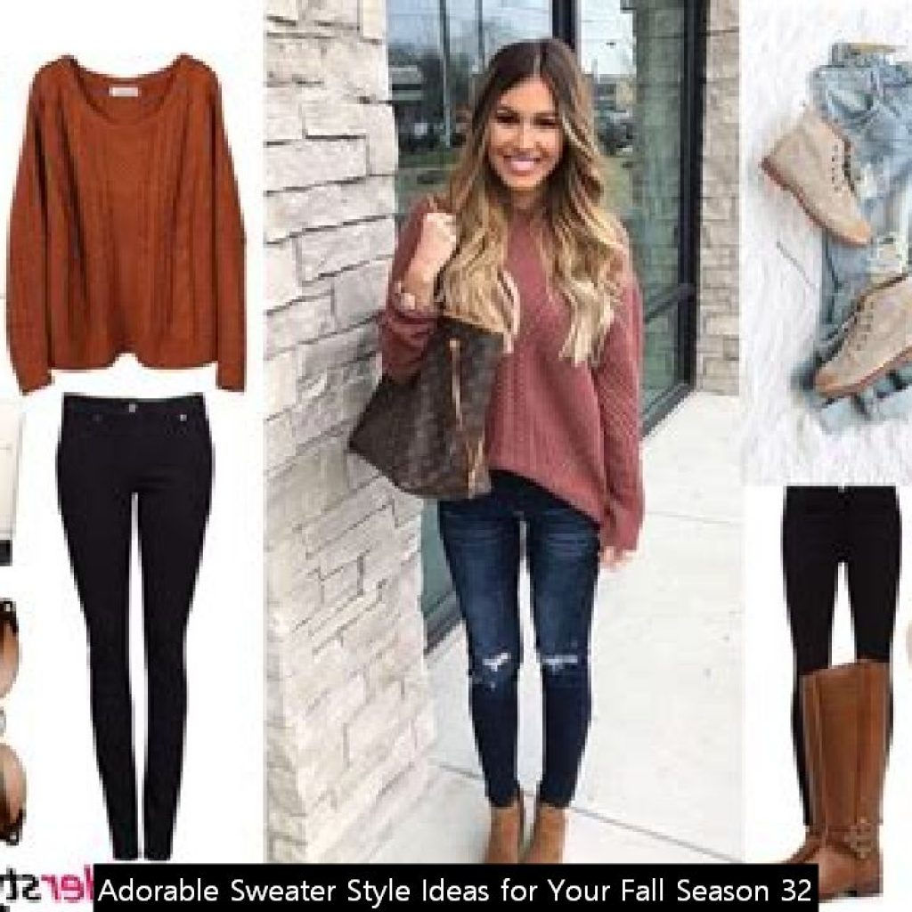 Adorable Sweater Style Ideas For Your Fall Season 32