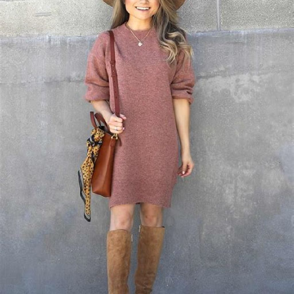 Adorable Sweater Style Ideas For Your Fall Season 39