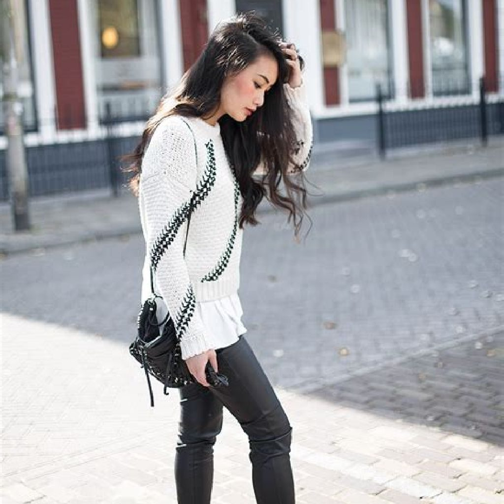 Chic Sweater Combination Ideas Suitable For Fall And Winter 20