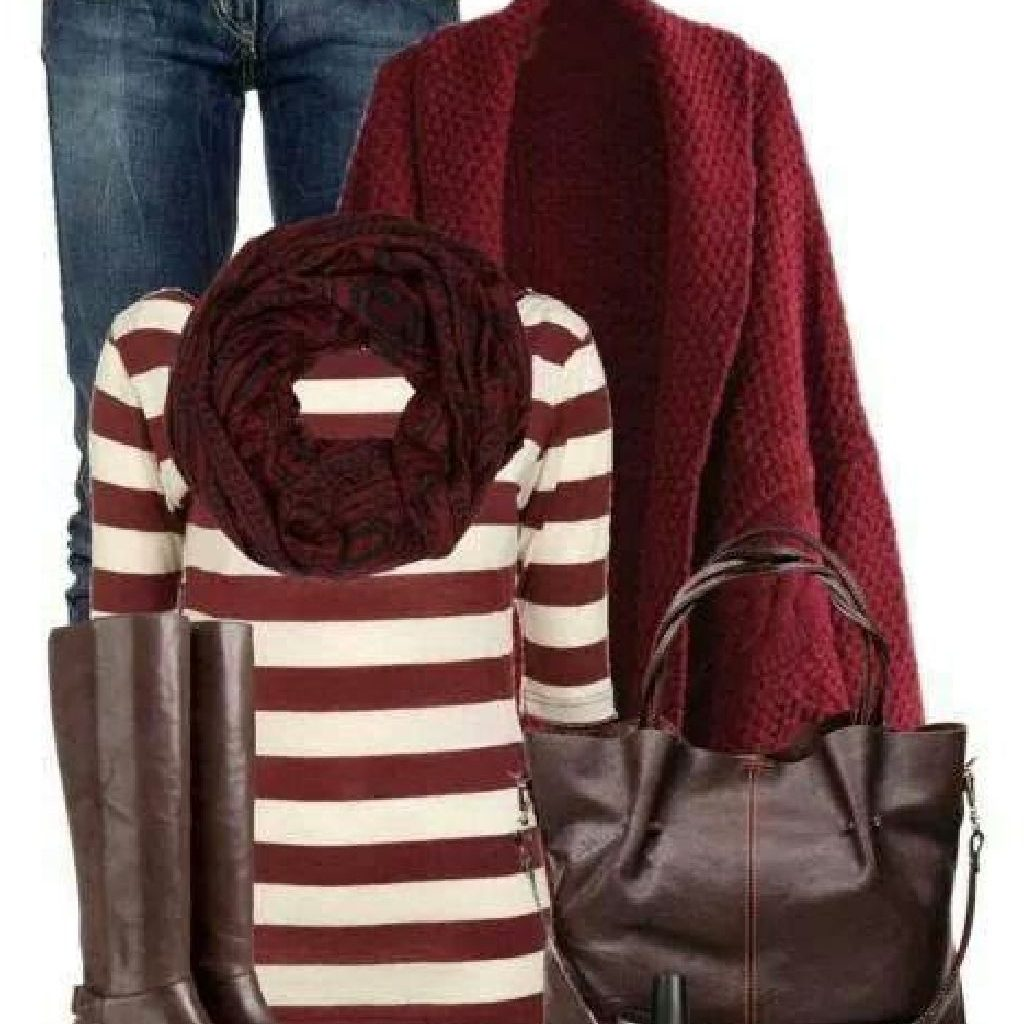 Chic Sweater Combination Ideas Suitable For Fall And Winter 35