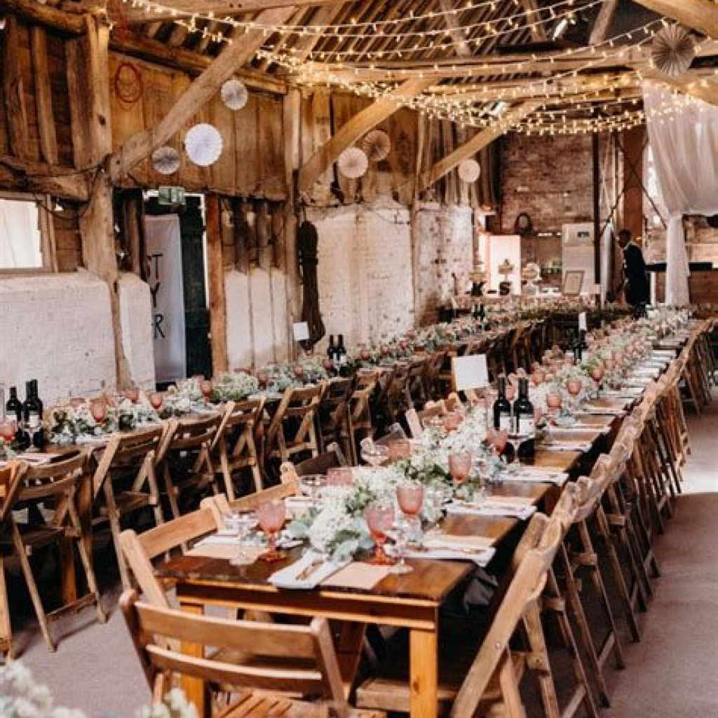 Perfect Country Wedding Decoration Ideas 05