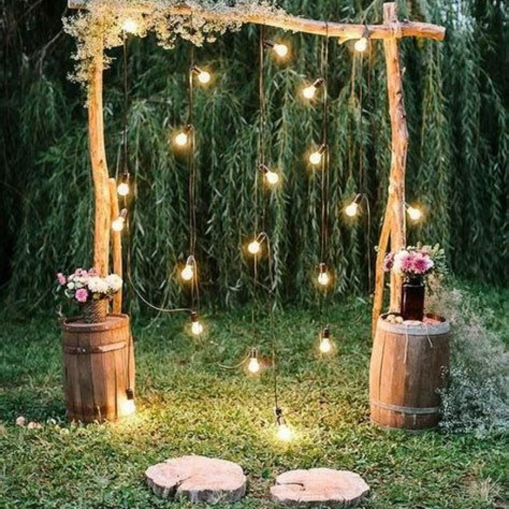 Perfect Country Wedding Decoration Ideas 11