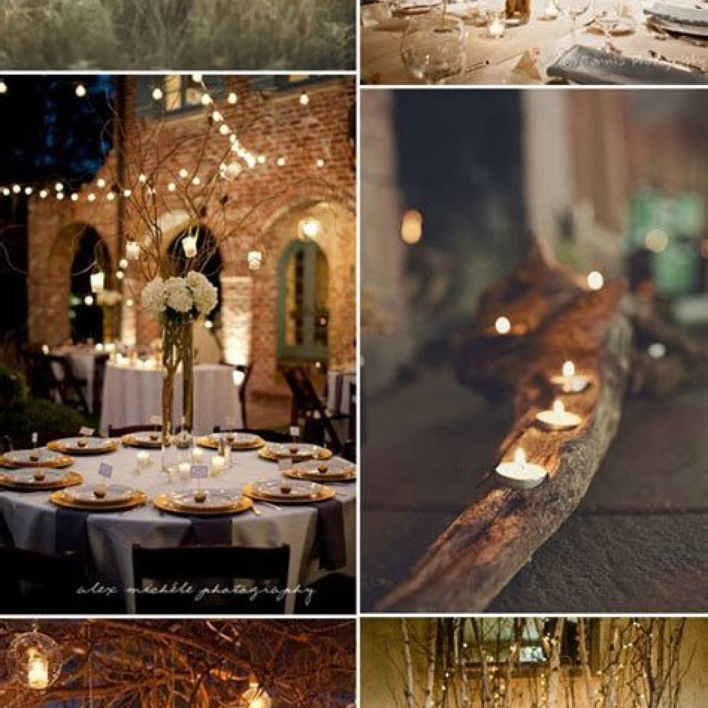 Romantic Rustic Wedding Decor Ideas 42
