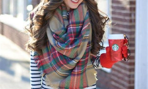 Stunning Fall Outfits Ideas With Scarves 27