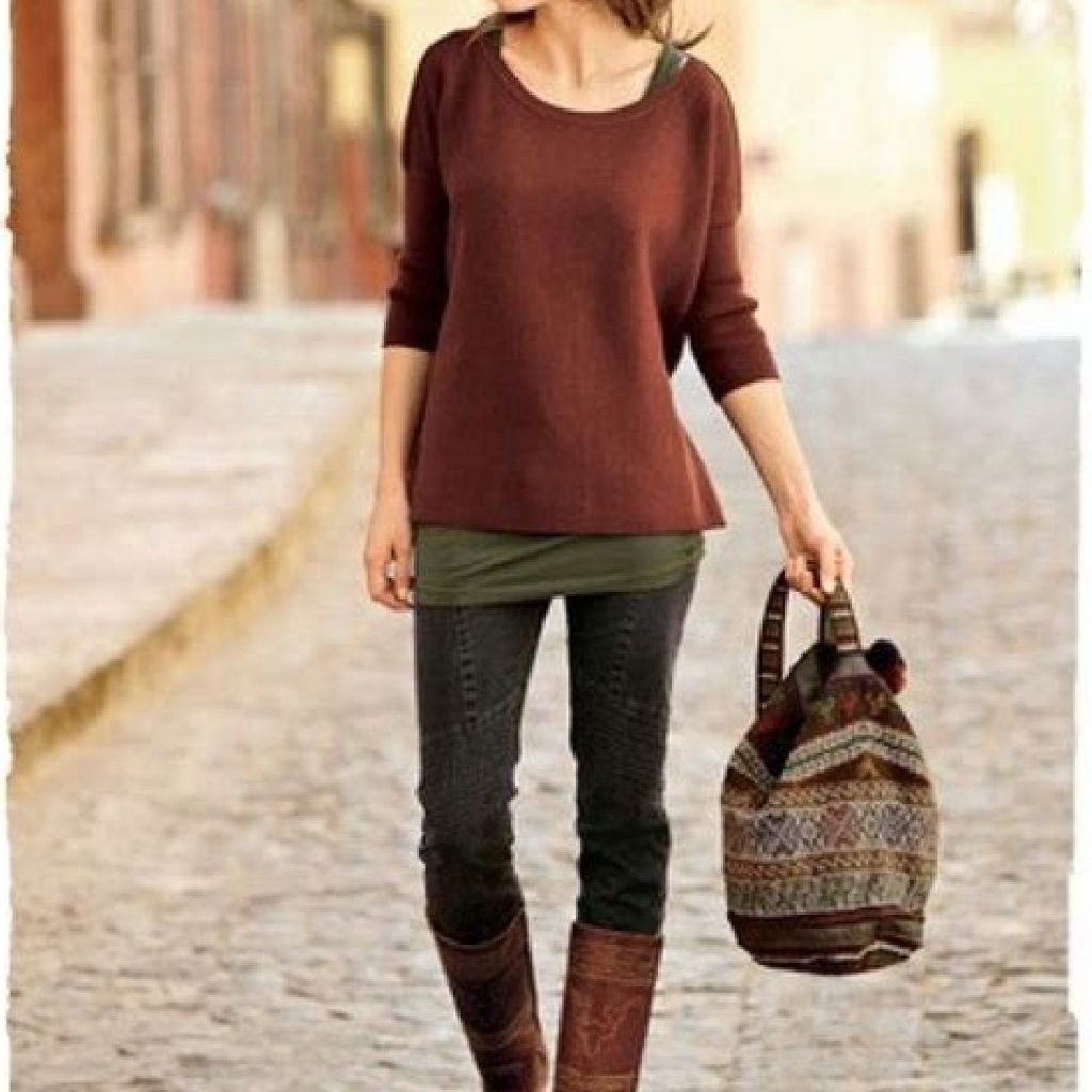 Stunning Fall Street Style Outfits Ideas For Women To Upgrade Your Look 26