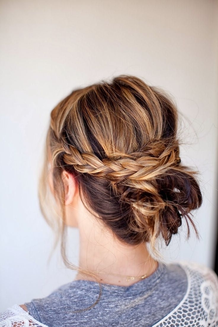 18 Quick And Simple Updo Hairstyles For Medium Hair 20+ Amazing Medium Length Updo Hairstyles With Bangs