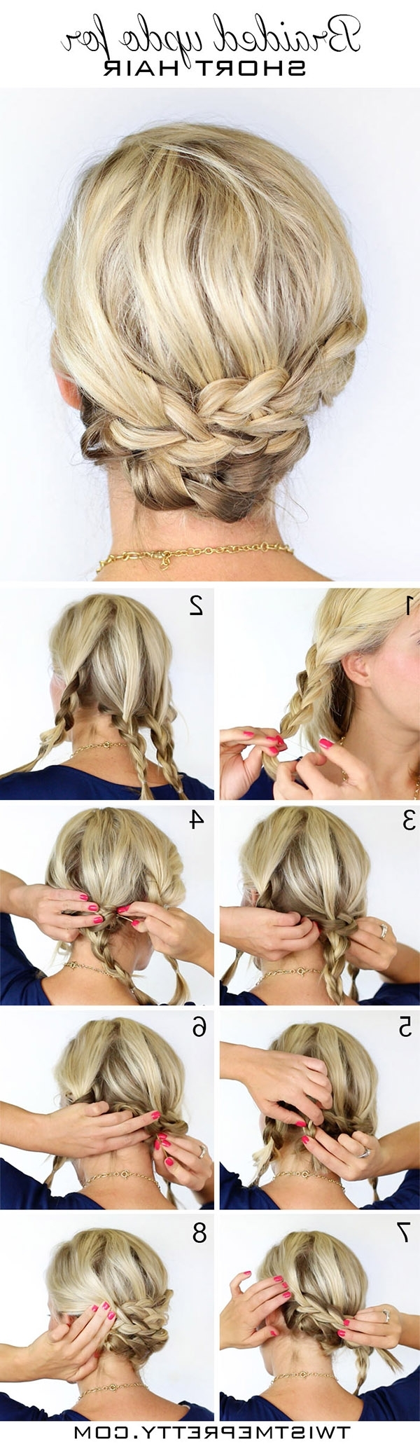 20 Diy Wedding Hairstyles With Tutorials To Try On Your Own Easy Wedding Hairstyles For Medium Hair
