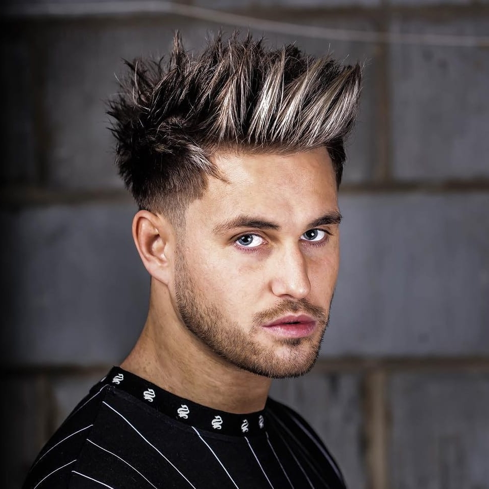 20 Exquisite Spiky Hairstyles: Leading Ideas For 2020 20+ Stunning Spiky Hairstyles For Medium Length Hair