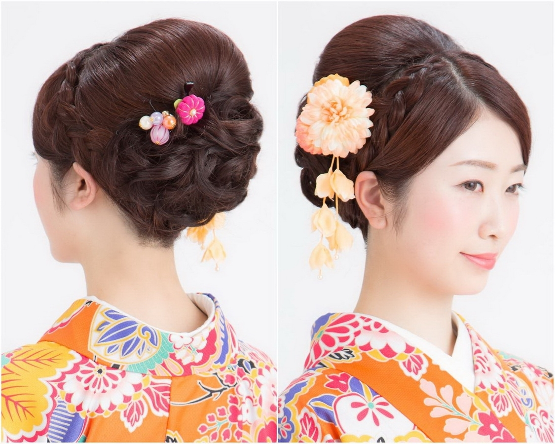 23 Best Kimono Hairstyles For Traditional And Modern Women 10+ Stylish Kimono Hairstyles For Medium Hair