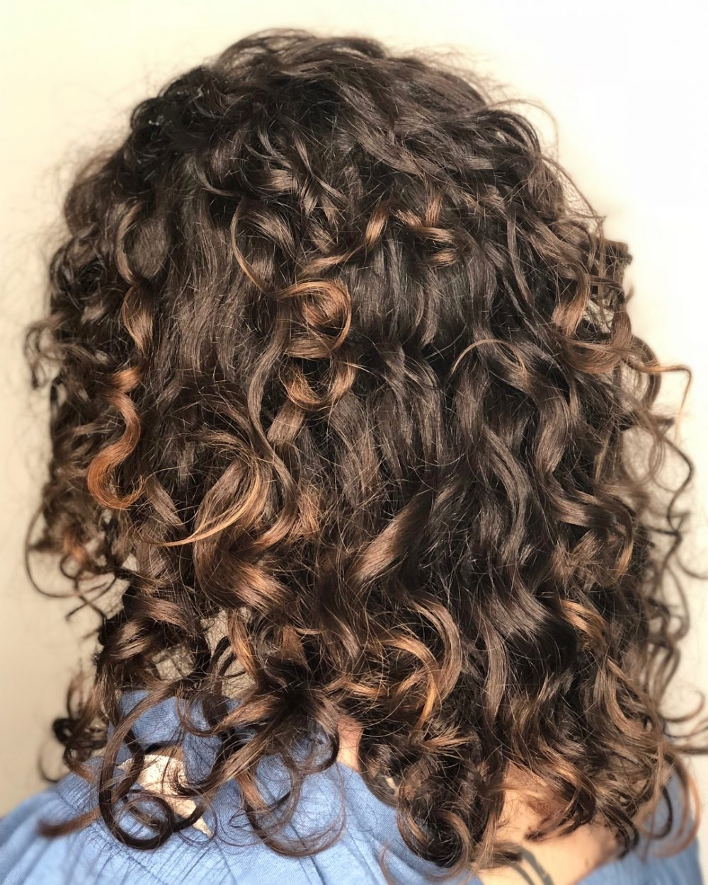 25 Best Shoulder Length Curly Hair Cuts & Styles In 2021 40+ Stunning Medium Thin Curly Hairstyles