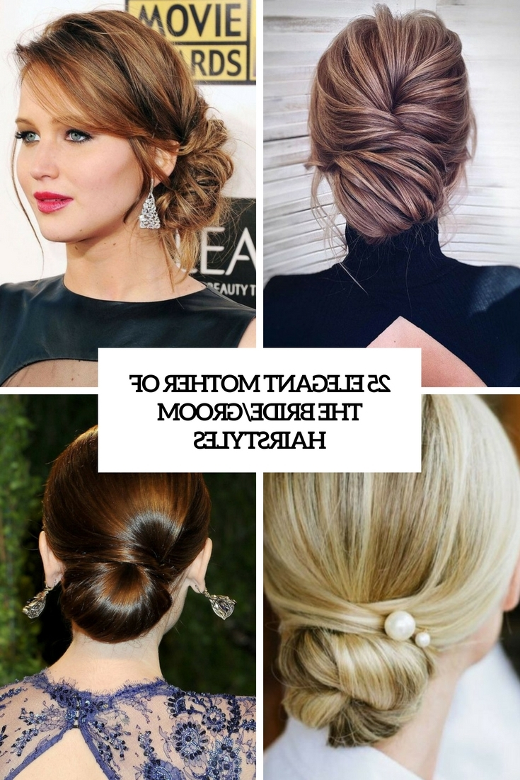 25 Elegant Mother Of The Bride/Groom Hairstyles Weddingomania 40+ Adorable Hairstyles For Mother Of The Bride Medium Hair
