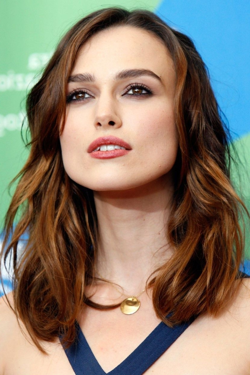 25 Famous Redheads To Inspire You To Try Auburn Hair Color Keira Knightley Medium Hairstyles
