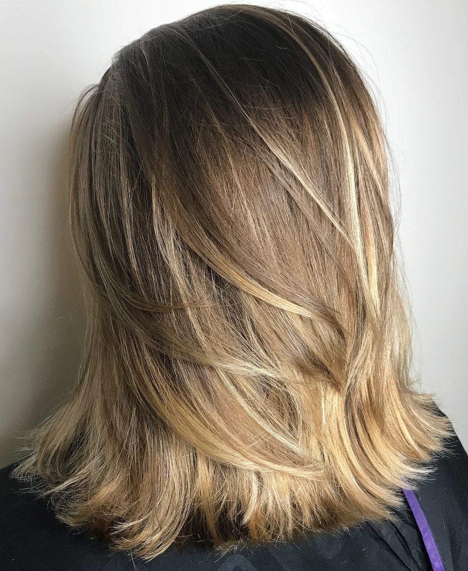 25 Must Try Medium Length Layered Haircuts For 2020 Medium Length Layered Textured Hairstyles
