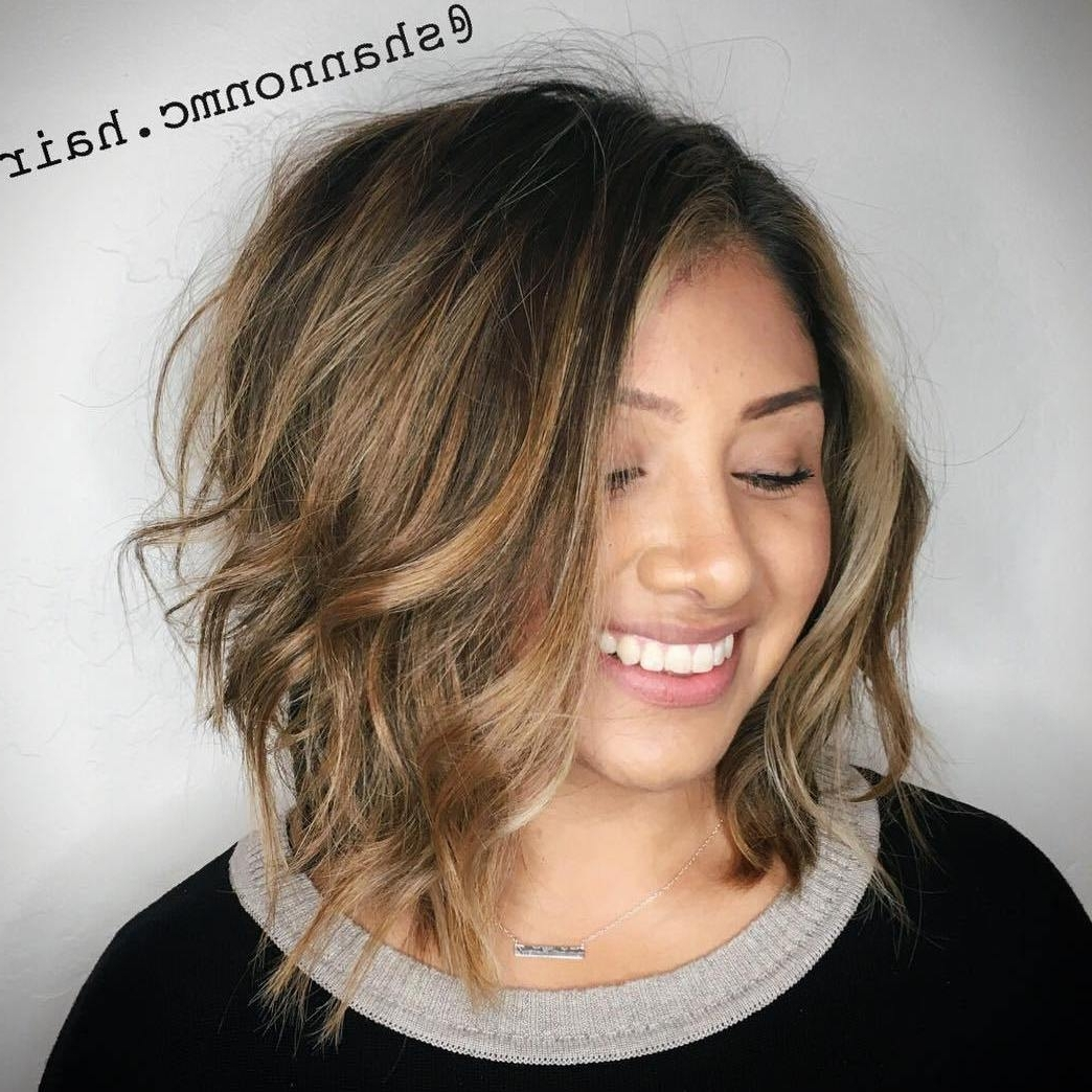 40 Classy Hairstyles For Round Faces To Choose In 2020 40+ Awesome Medium Length Hairstyles For Over 50 With Fat Face