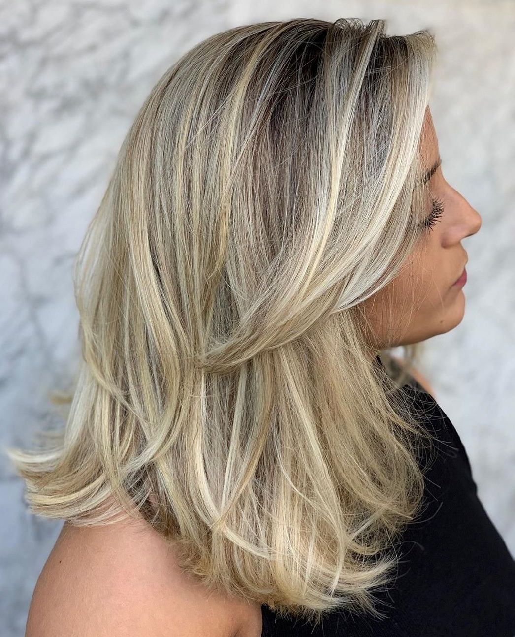 40 Medium Length Hairstyles For Thick Hair ⋆ Palau Oceans 30+ Awesome Thick Hair Low Maintenance Medium Length Hairstyles