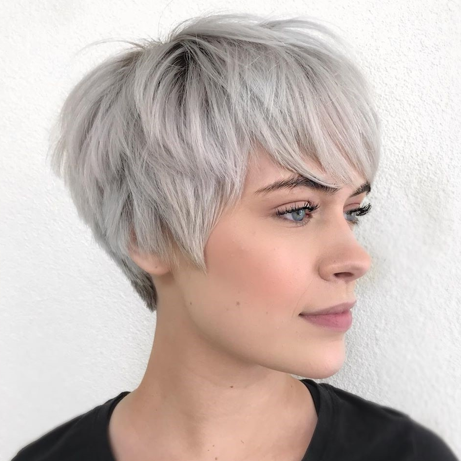 40 Short Hairstyles For Thick Hair (Trendy In 2019 2020 30+ Stunning Medium Hairstyles Thick Hair 2019