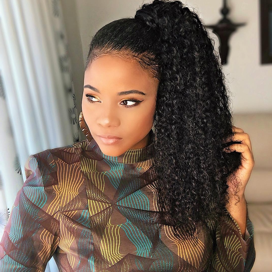 45 Classy Natural Hairstyles For Black Girls To Turn Heads 10+ Stylish Professional Natural Hairstyles For Medium Length Hair
