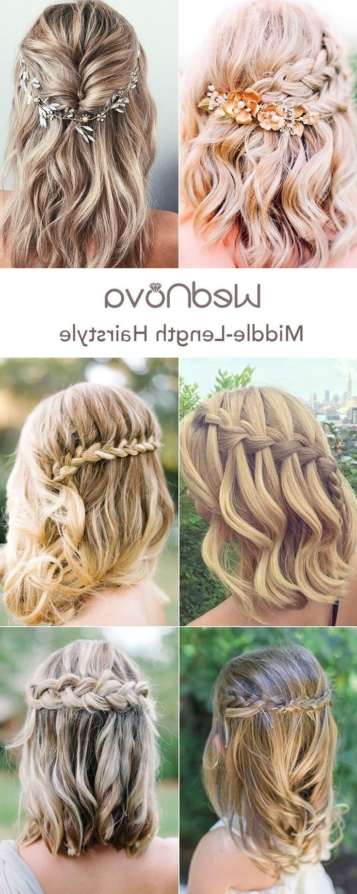 48 Easy Wedding Hairstyles Best Guide For Your Bridesmaids 30+ Awesome Easy Wedding Hairstyles For Medium Hair