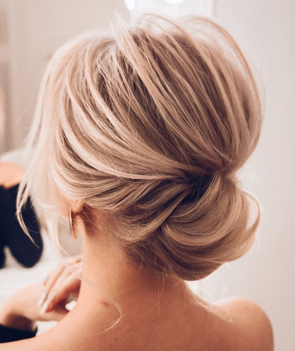 50 Lovely Updo Hairstyles That Are Trendy For 2020 20+ Amazing Medium Length Updo Hairstyles With Bangs