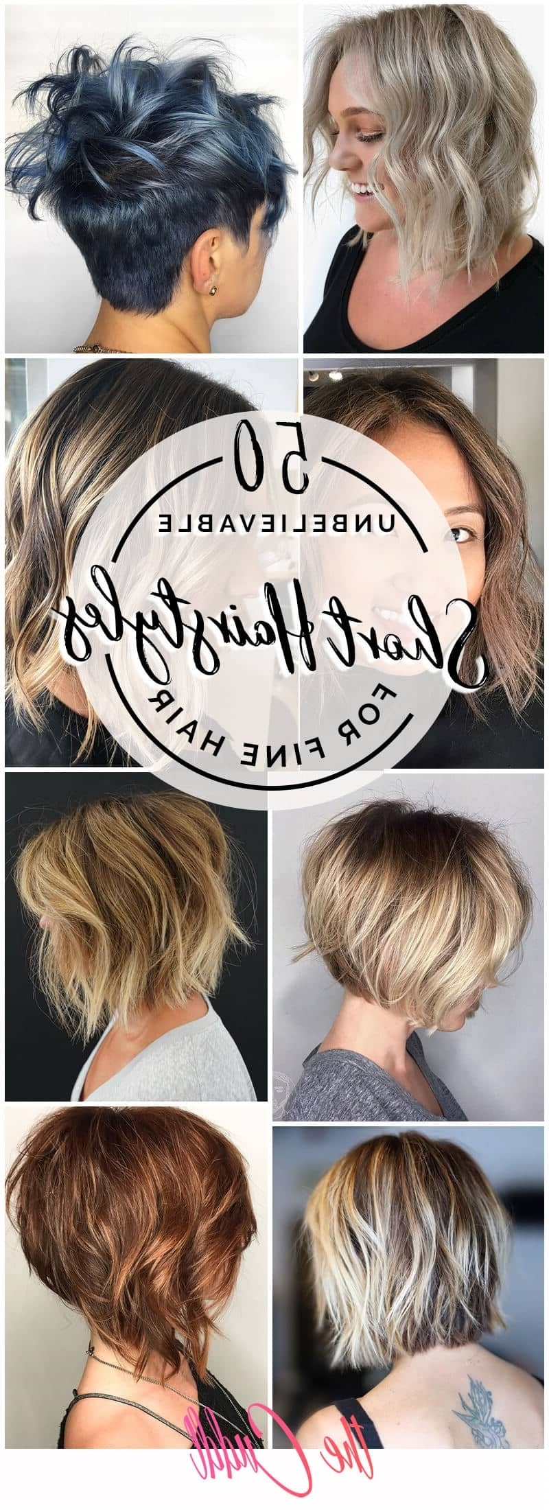 50 Quick And Fresh Short Hairstyles For Fine Hair In 2020 Medium Blonde Hairstyles For Fine Hair