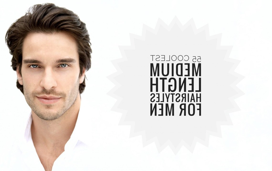 55 Medium Length Hairstyles For Men + Styling Tips Men 30+ Awesome Medium Mens Hairstyles 2019