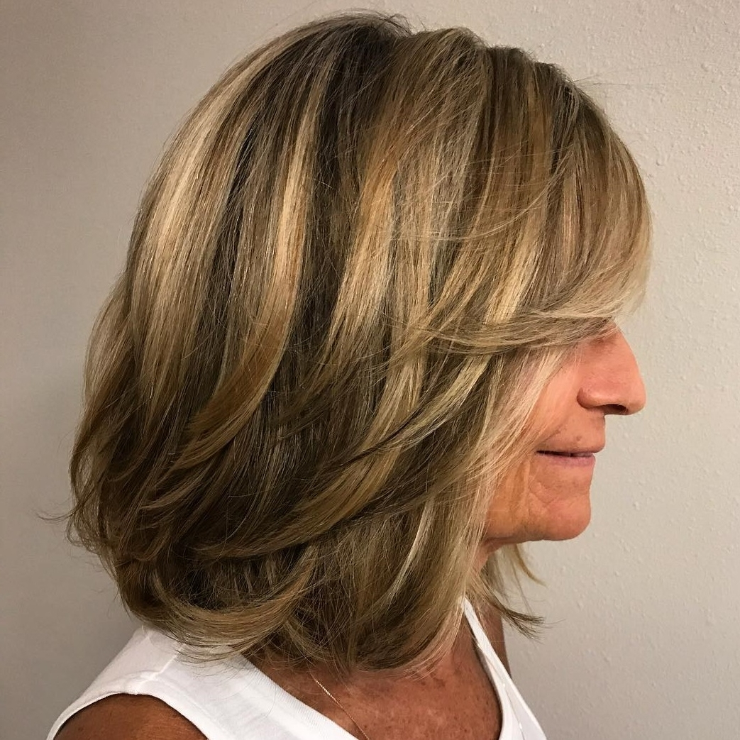 60 Trendiest Hairstyles And Haircuts For Women Over 50 In 2020 10+ Stunning Medium Length Wash And Wear Hairstyles