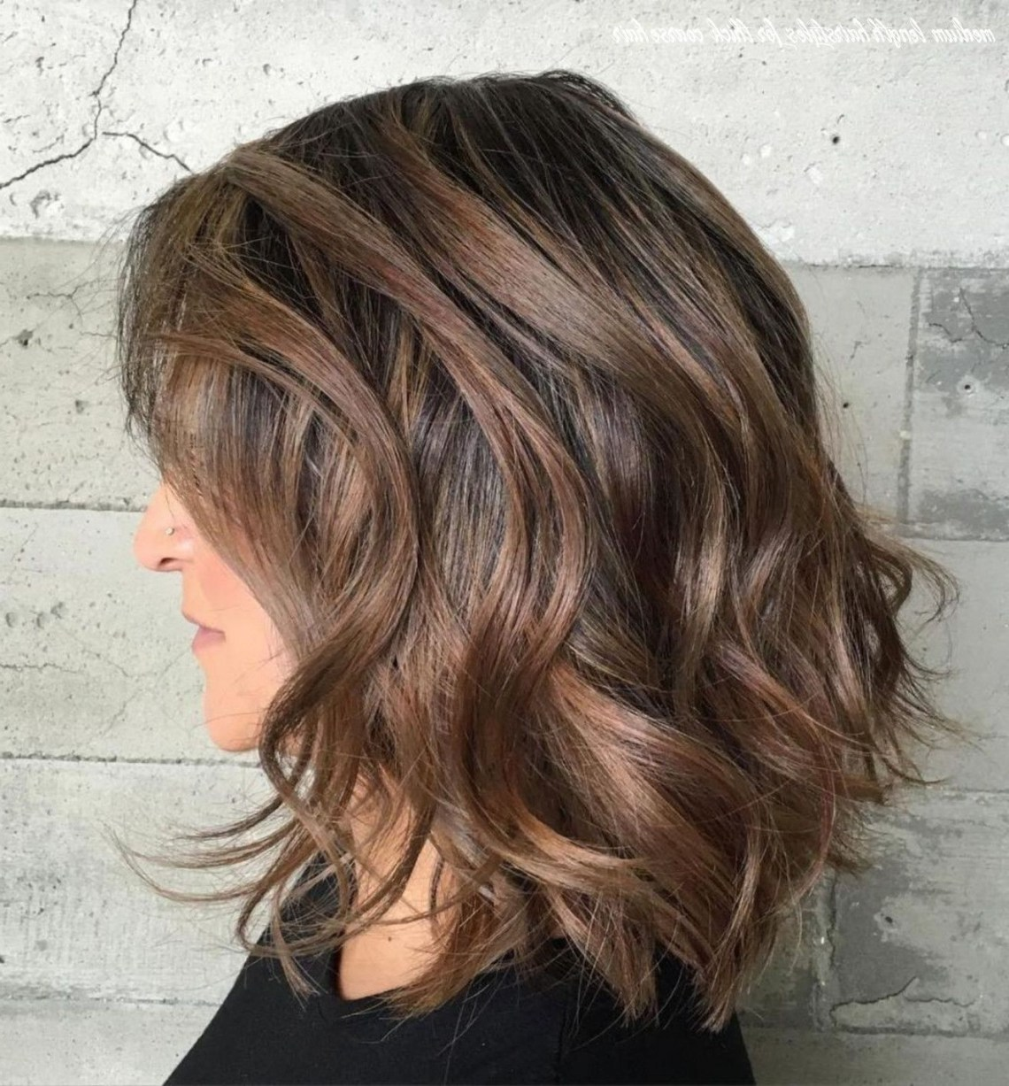 9 Medium Length Hairstyles For Thick Coarse Hair | Haircut 40+ Cute Hairstyles Thick Coarse Hair Medium Length
