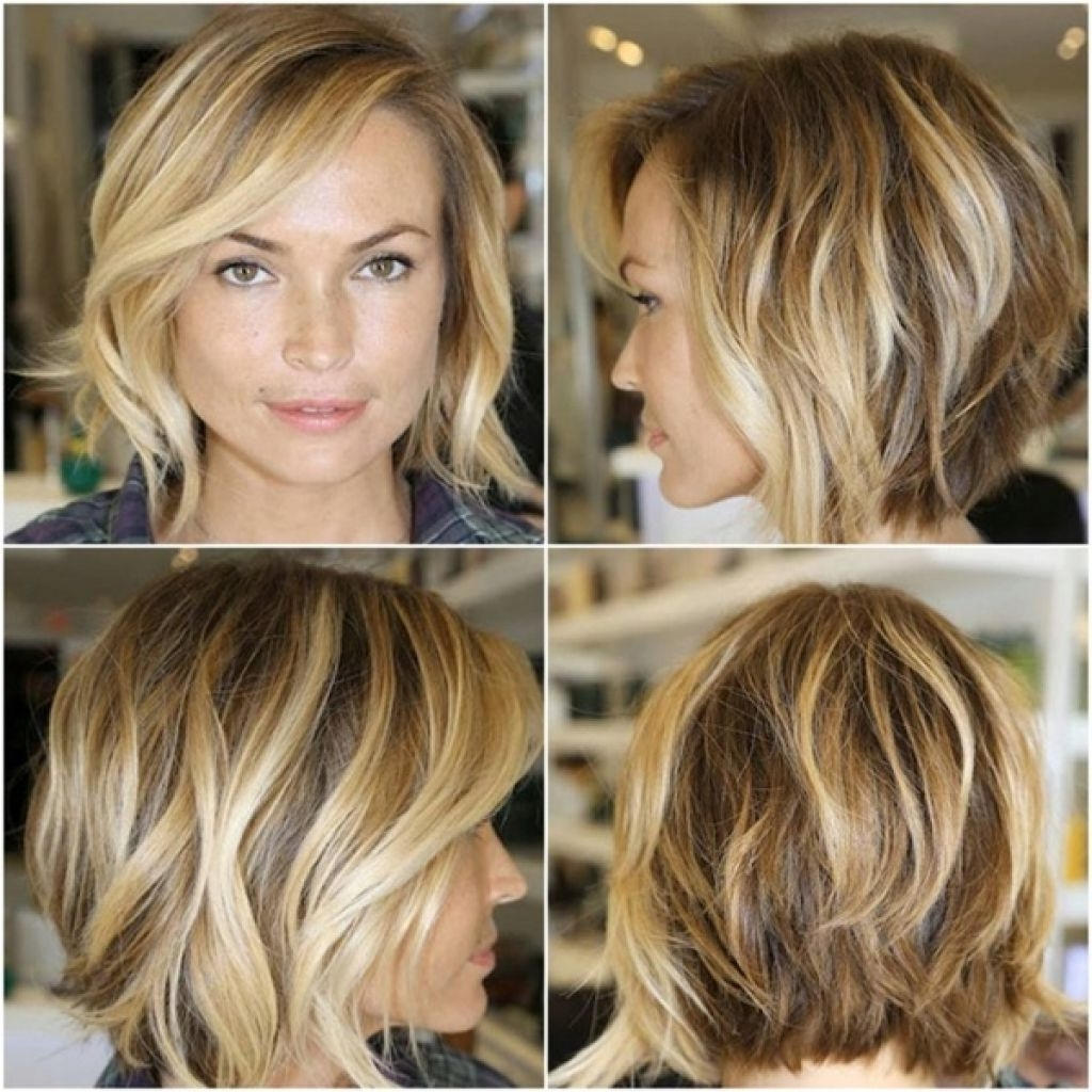 Bob Haircuts Front And Back View Best Shoulder Length Bob Curly Medium Length Hairstyles 2015