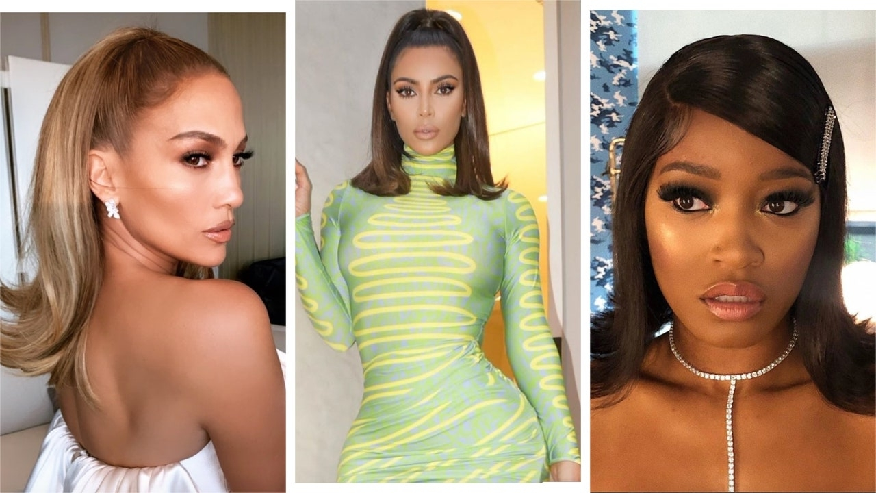 Celebrity Flip Hairstyles Are Trending For 2019 | Glamour Medium Flip Out Hairstyle