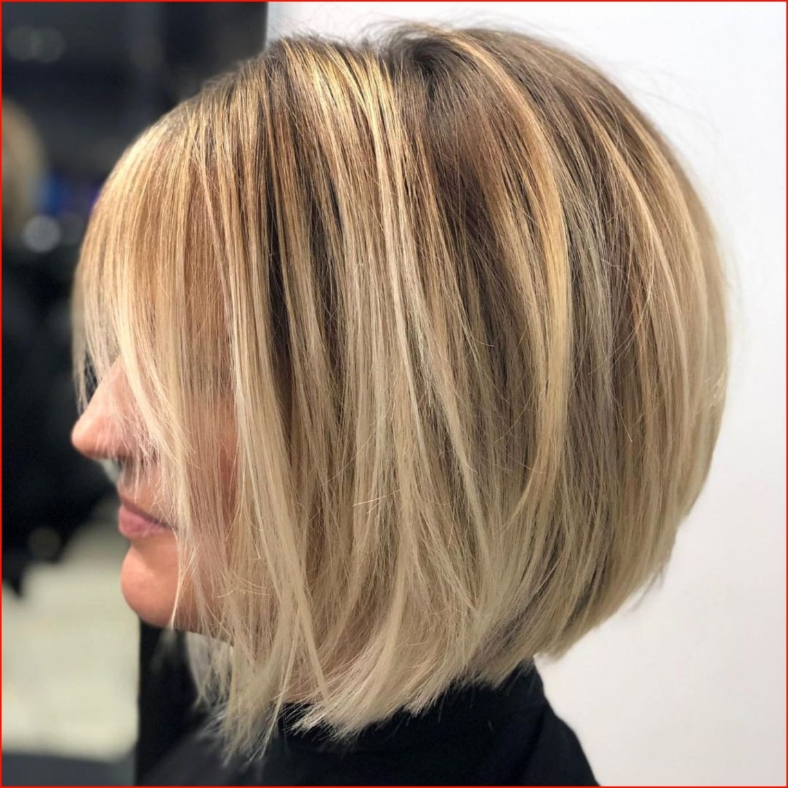 Cool Layered Wedge Hairstyle Photos Of Hairstyles Style 2021 10+ Adorable Medium Wedge Hairstyles