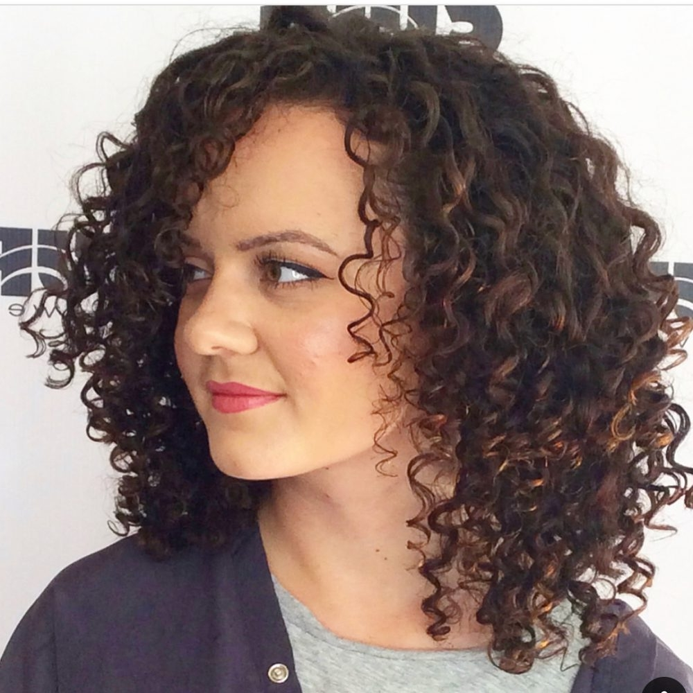 Curly Hairstyles Inverted Bob #Curly Hairstyles Baby Indian Curly Hairstyles For Medium Length Hair