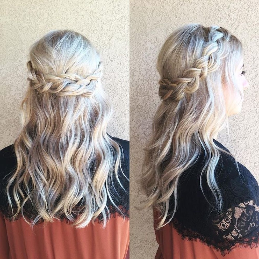 Easy Prom Hairstyles That Anyone And Everyone Can Rock To Prom 10+ Awesome Easy Hairstyles For Medium Length Hair For Prom